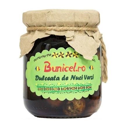 Dulceata de Nuci Verzi - 240 g - produs artizanal de BunicelRo