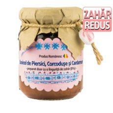 Dulceata de Piersici Corcoduse si Cardamom - Produs artizanal de Bunicel