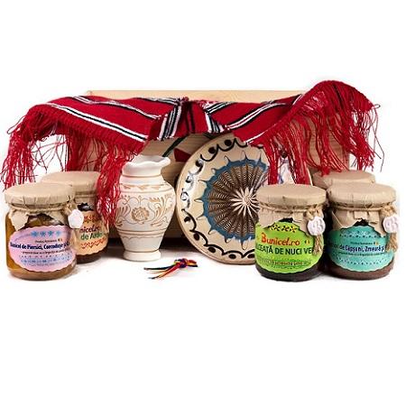 Cos Cadou Traditional - produs artizanal de BunicelRo 3