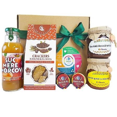 Cos Cadou Gourmet - Produs Artizanal de Bunicel