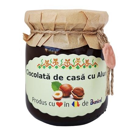 Ciocolata de Casa cu Alune - produs Artizanal de Bunicel